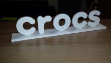 Crocs 3D, 8mm PVC