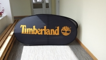 pop up banner , oval 2x1m_Timberland